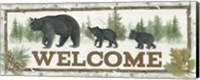Family Cabin Welcome Fine-Art Print