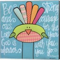 Be Strong Bird Fine-Art Print