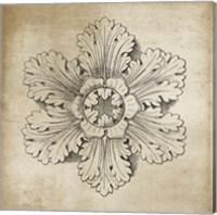 Rosette V Neutral Fine-Art Print