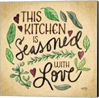 Kitchen Memories I (Kitchen seasoned) Fine-Art Print