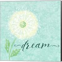 Dandelion Wishes I Fine-Art Print