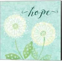 Dandelion Wishes II Fine-Art Print