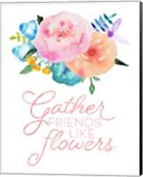 Flowers in Full Bloom I Fine-Art Print