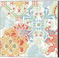 Crimson Stamps II Spring Fine-Art Print