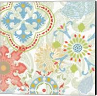 Crimson Stamps III Spring Fine-Art Print