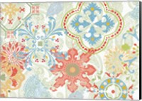 Crimson Stamps IV Spring Fine-Art Print
