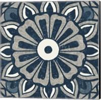 Inspired India Blue IV Fine-Art Print