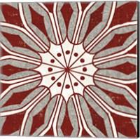 Inspired India Red V Fine-Art Print