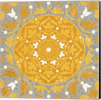 Inspired India Yellow III Fine-Art Print