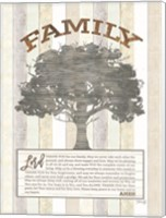 Family Prayer Tree Fine-Art Print
