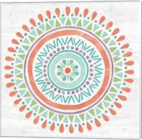 Lovely Llamas Mandala I Fine-Art Print