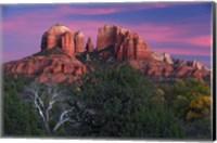 Sedona Cathedral Rock Dusk Fine-Art Print