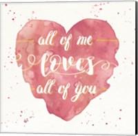 Happy Hearts I Pink Fine-Art Print