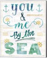 Coastal Words II on Wood Fine-Art Print