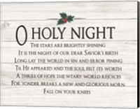 O Holy Night Fine-Art Print