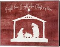 O Holy Night - Manger Fine-Art Print