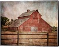 York Road Barn Fine-Art Print