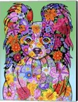 Flowers Papillon Fine-Art Print