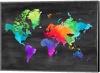 Map of Many Colors Fine-Art Print