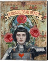 Courage Dear Heart Fine-Art Print