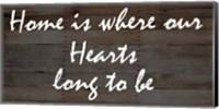 Our Hearts Fine-Art Print