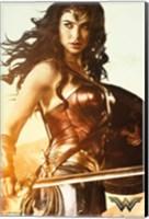 Wonder Woman Wall Poster