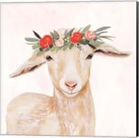 Garden Goat I Fine-Art Print