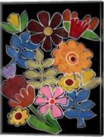 Layered Floral II Fine-Art Print