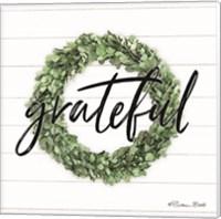 Grateful Boxwood Wreath Fine-Art Print