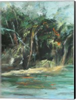 Waterway Jungle I Fine-Art Print