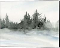Evergreens in the Distance II Fine-Art Print