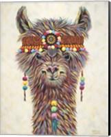 Hippie Llama II Fine-Art Print