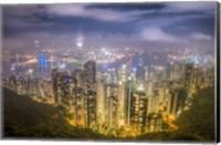 View from The Peak Hong Kong Fine-Art Print