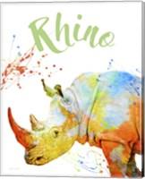 Colorful Safari Animals B Fine-Art Print