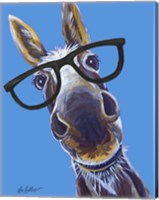 Donkey Snickers Glasses Fine-Art Print