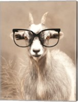 See Clearly Goat Fine-Art Print