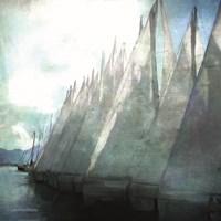 Sailboat Marina I Fine-Art Print