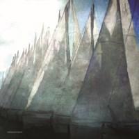 Sailboat Marina II Fine-Art Print