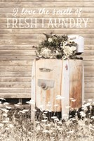 I Love the Smell of Fresh Laundry Fine-Art Print