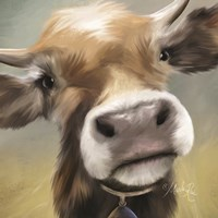 Up Close Moomoo Fine-Art Print
