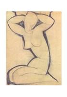 Cariatide - nude Fine-Art Print