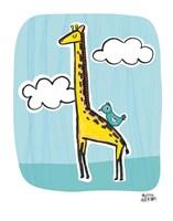 Wild About You Giraffe Fine-Art Print