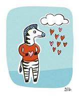 Wild About You Zebra Fine-Art Print