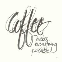 Coffee Sayings IV Fine-Art Print