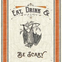 Be Scary IV Fine-Art Print