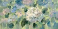 Hydrangea Mosaic Fine-Art Print