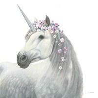 Spirit Unicorn II Sq Enchanted Fine-Art Print