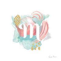 Abstract Monogram M Fine-Art Print