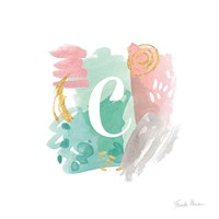 Abstract Monogram C Fine-Art Print