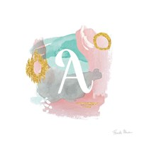 Abstract Monogram A Fine-Art Print